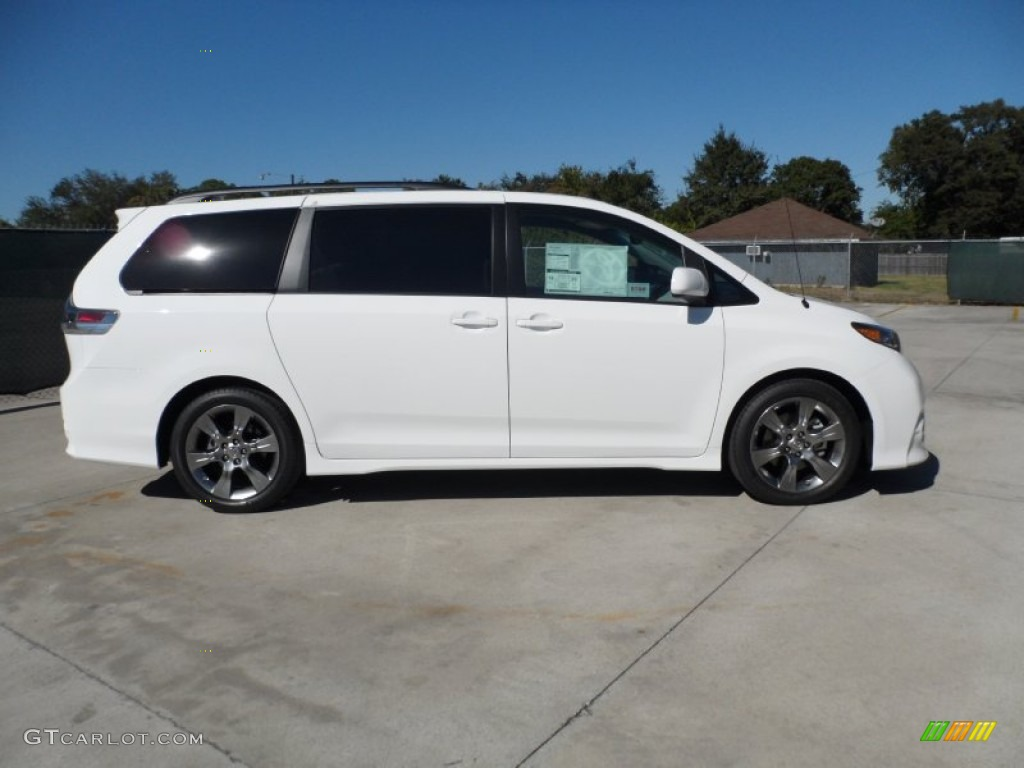 Super white 2012 toyota sienna se exterior photo 55445074