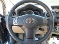 Sand Beige Steering Wheel Photo for 2011 Toyota RAV4 #55445704