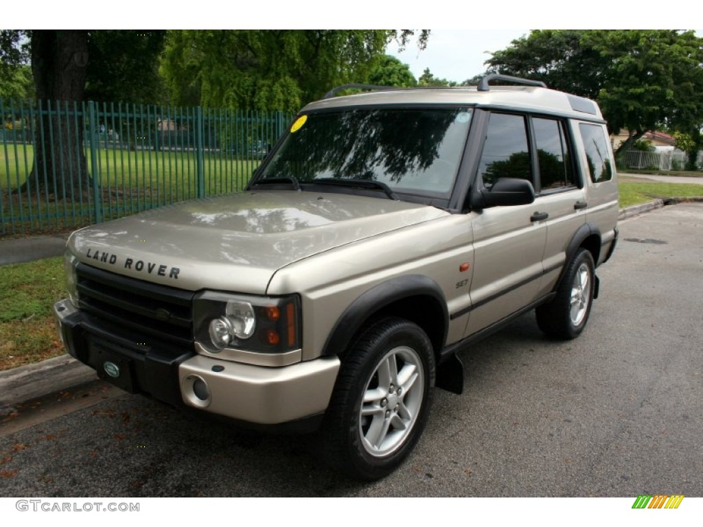 2003 white gold land rover discovery se7 55402117 car color galleries. Black Bedroom Furniture Sets. Home Design Ideas