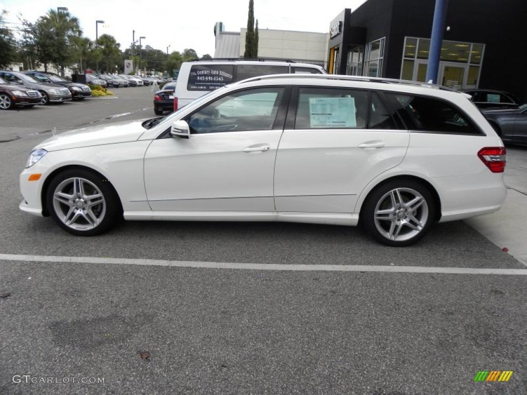 Arctic white 2011 mercedes benz e 350 4matic wagon for Mercedes benz e350 4matic 2011