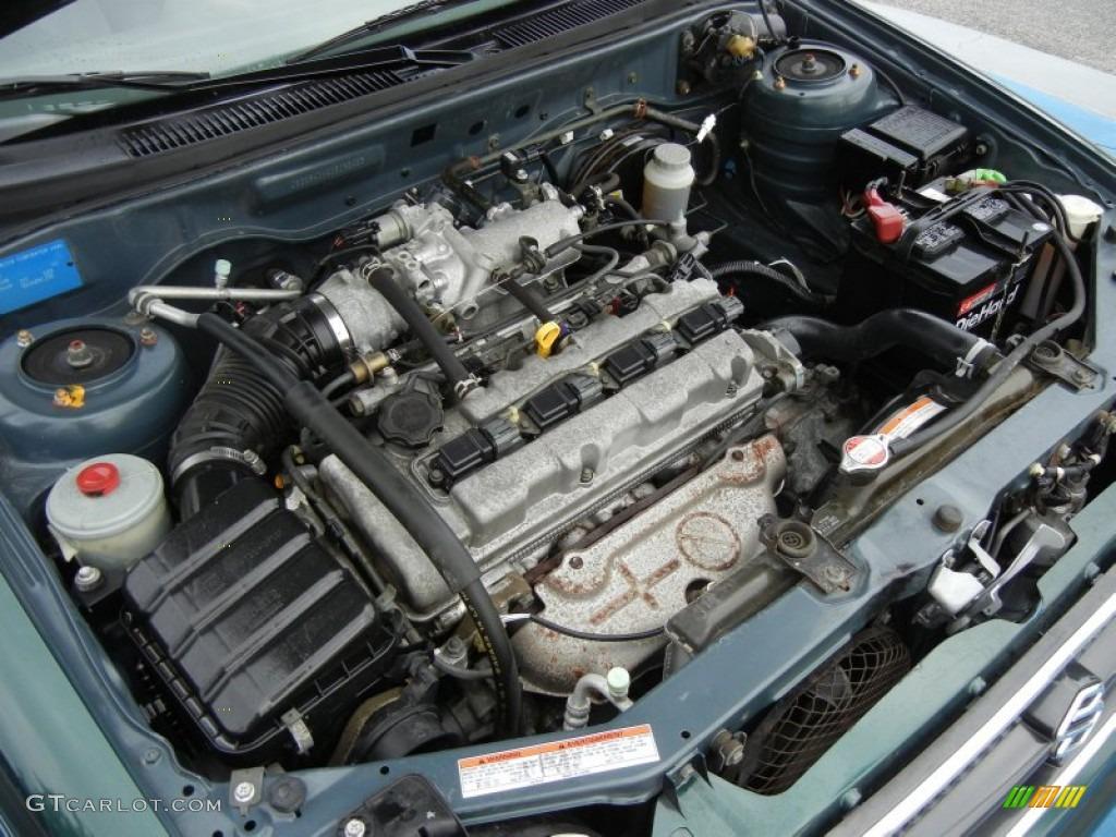 2000 Suzuki Esteem GL Wagon 1 8 Liter DOHC 16 Valve 4