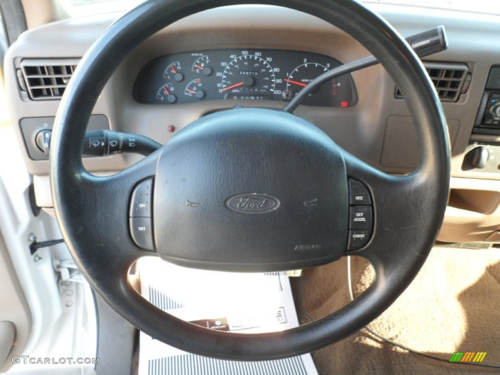 1999 Ford F250 Super Duty XLT Crew Cab Steering Wheel Photos