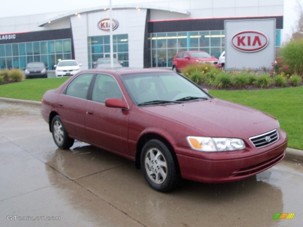 2000 camry vintage red