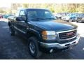 2003 Polo Green Metallic GMC Sierra 2500HD SLE Extended Cab 4x4  photo #20