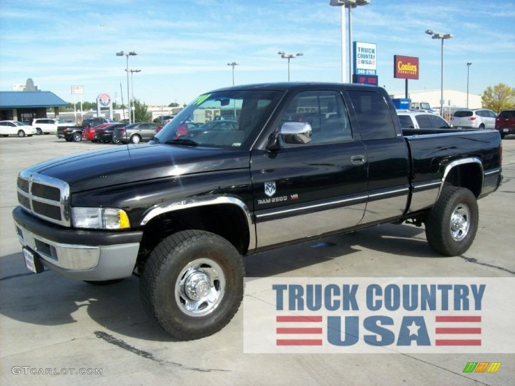 1997 black dodge ram 2500 laramie extended cab 4x4 55450584 gtcarlot com car color galleries