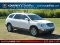 2009 White Opal Buick Enclave CXL  photo #1