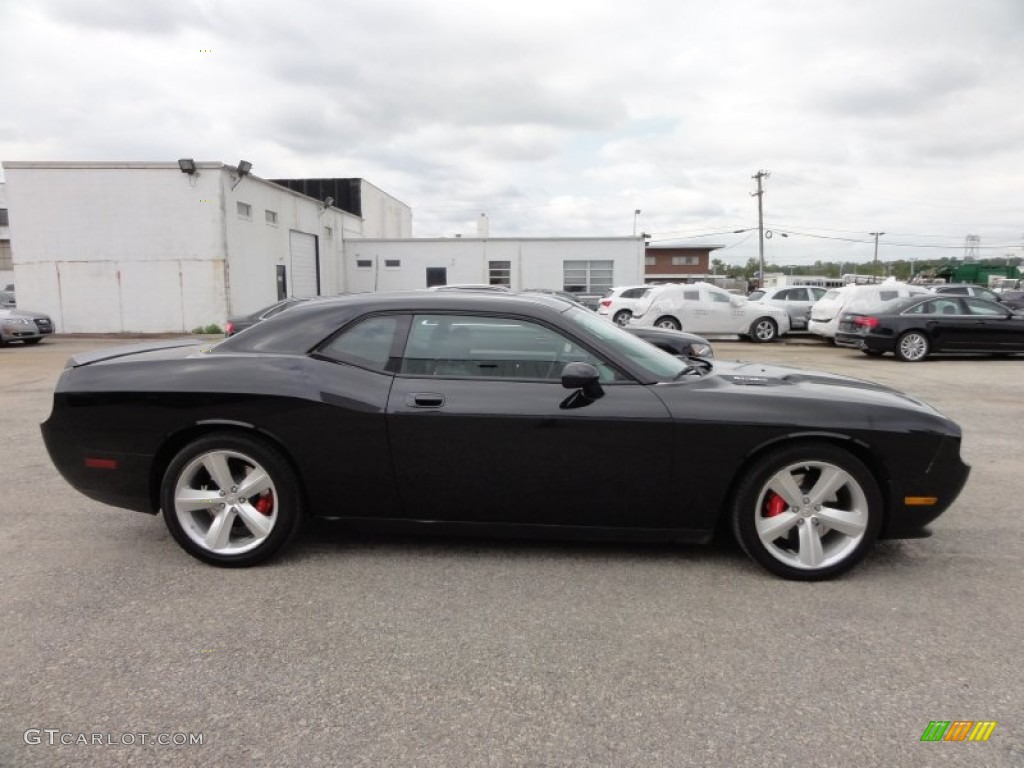 Brilliant black crystal pearl 2010 dodge challenger srt8 exterior photo 55481270