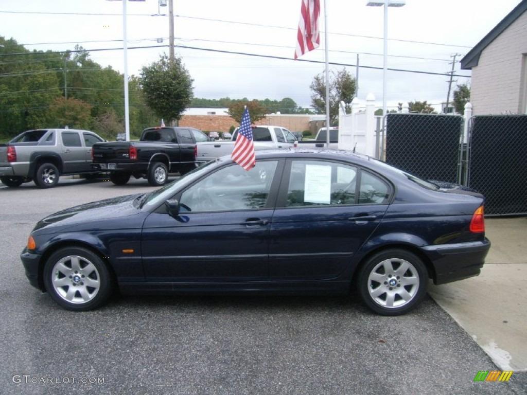 Orient Blue Metallic 2000 Bmw 3 Series 323i Sedan Exterior