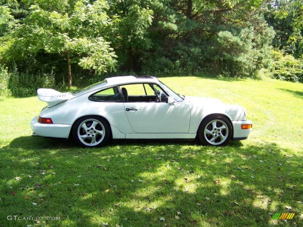 gran prix white 1990 porsche 911 carrera 4 coupe exterior photo 55482485. Black Bedroom Furniture Sets. Home Design Ideas