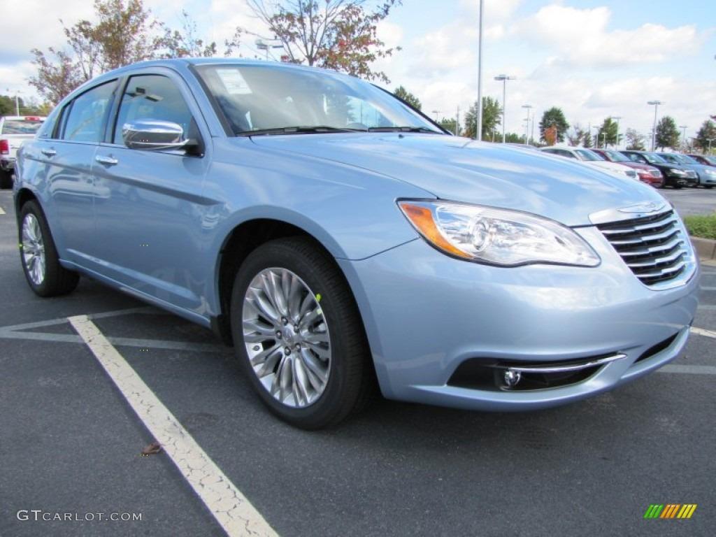 crystal blue pearl coat 2012 chrysler 200 limited sedan. Black Bedroom Furniture Sets. Home Design Ideas