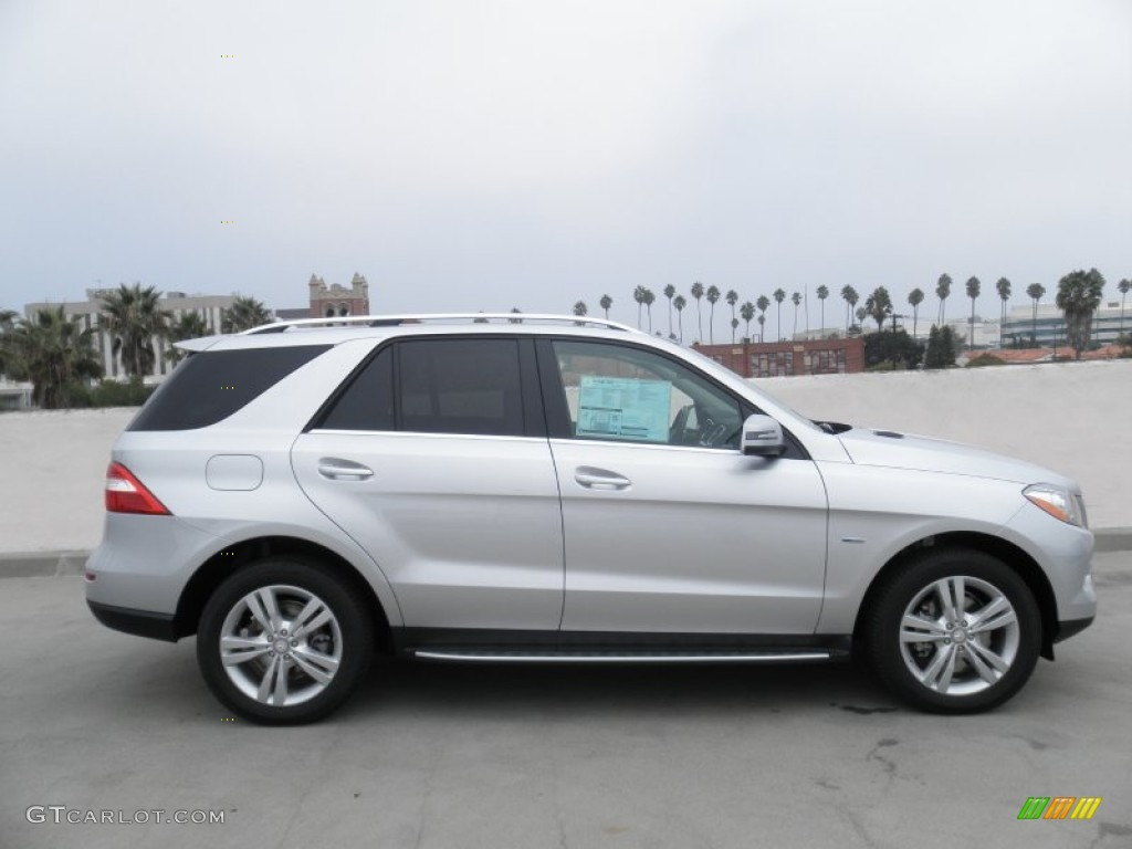 Iridium silver metallic 2012 mercedes benz ml 350 4matic for Mercedes benz silver