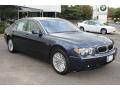 Toledo Blue Metallic - 7 Series 745Li Sedan Photo No. 3