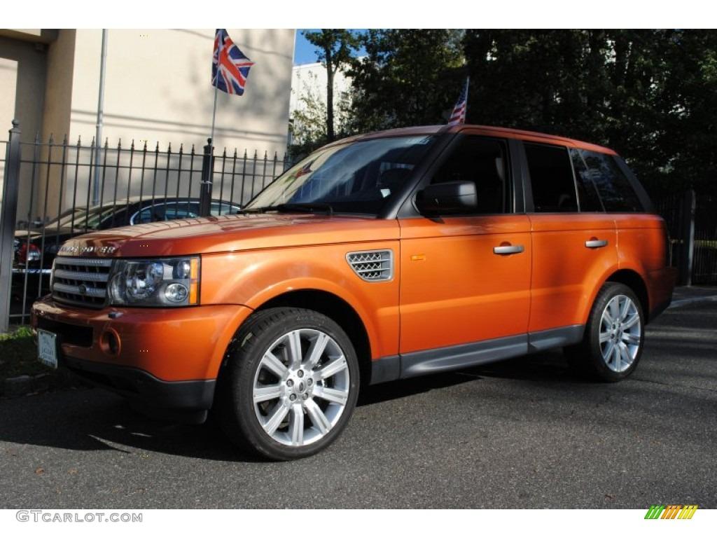 2006 Vesuvius Orange Metallic Land Rover Range Rover Sport