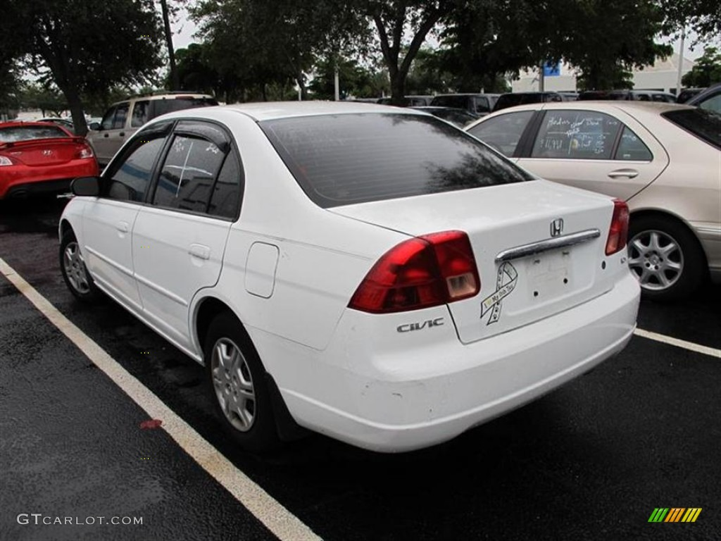 2002 taffeta white honda civic lx sedan 55487710 photo 3 car color galleries. Black Bedroom Furniture Sets. Home Design Ideas