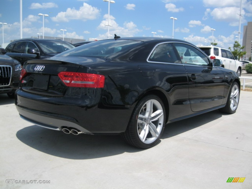 brilliant black 2012 audi s5 42 fsi quattro coupe