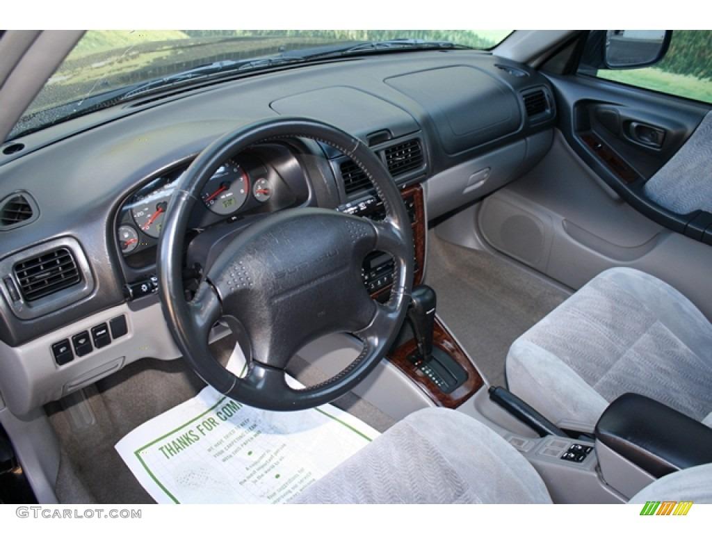 Gray Interior 2001 Subaru Forester 2 5 S Photo 55522781