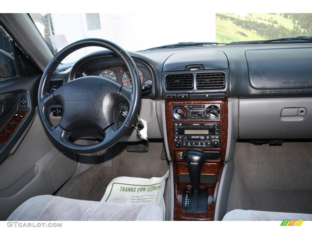 2001 Subaru Forester 2 5 S Gray Dashboard Photo 55522853