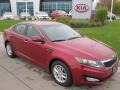 2012 Optima LX Spicy Red