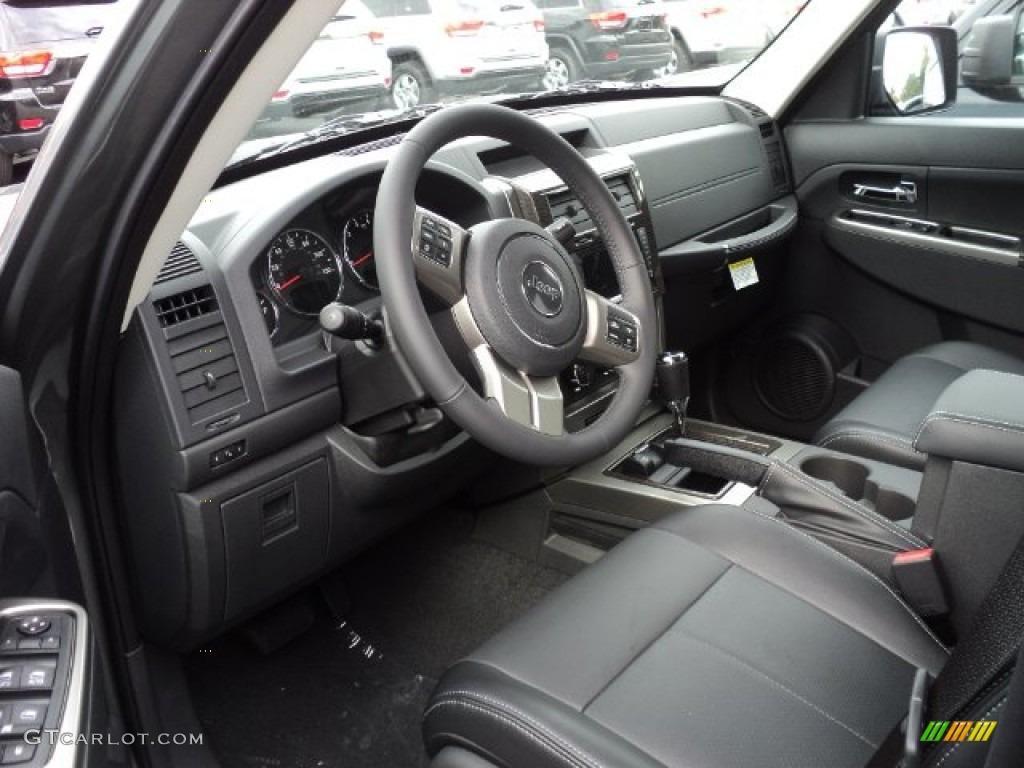 dark slate gray interior 2012 jeep liberty jet 4x4 photo. Black Bedroom Furniture Sets. Home Design Ideas