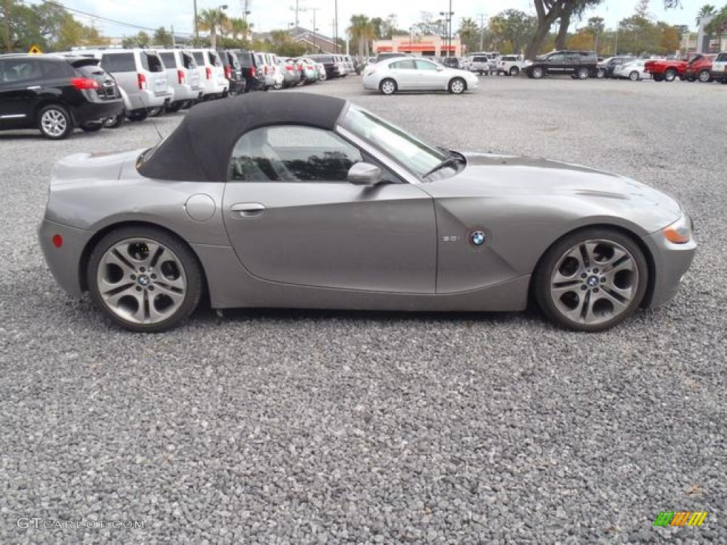 2003 Sterling Grey Metallic Bmw Z4 3 0i Roadster 55487538
