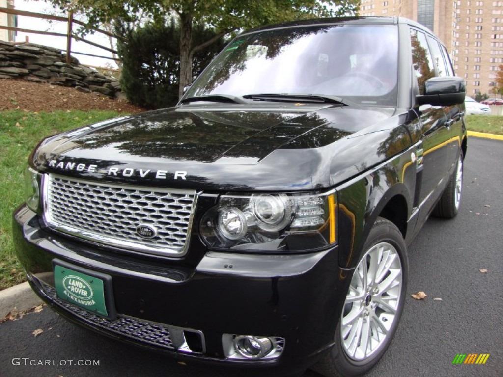 2012 Santorini Black Metallic Land Rover Range Rover Autobiography