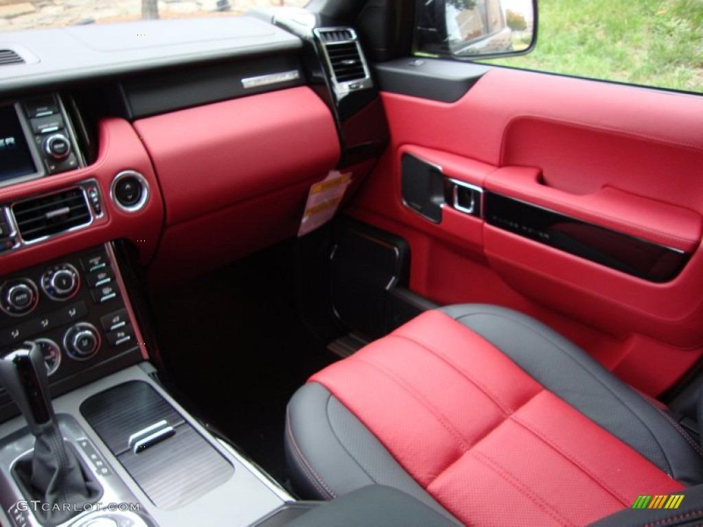 Duo Tone Jet Pimento Interior 2012 Land Rover Range Rover Autobiography Photo 55532135