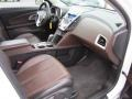 Jet Black/Brownstone Interior Photo for 2010 Chevrolet Equinox #55538001