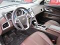 Jet Black/Brownstone Prime Interior Photo for 2010 Chevrolet Equinox #55538055