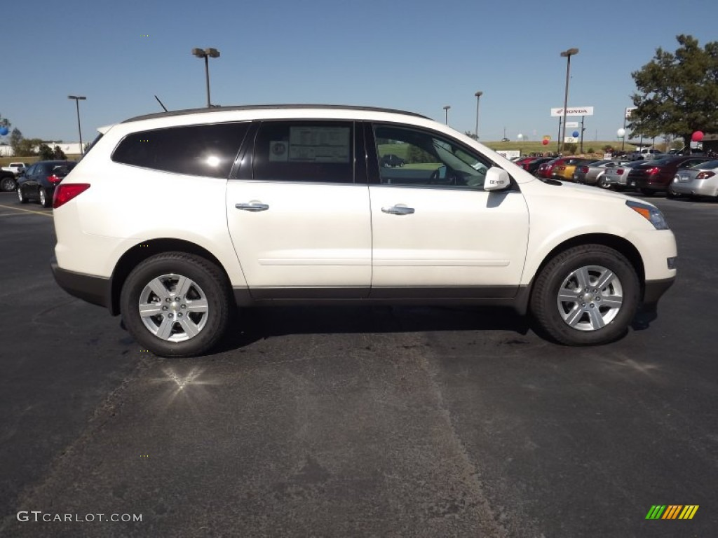 white diamond tricoat 2012 chevrolet traverse lt exterior photo. Cars Review. Best American Auto & Cars Review