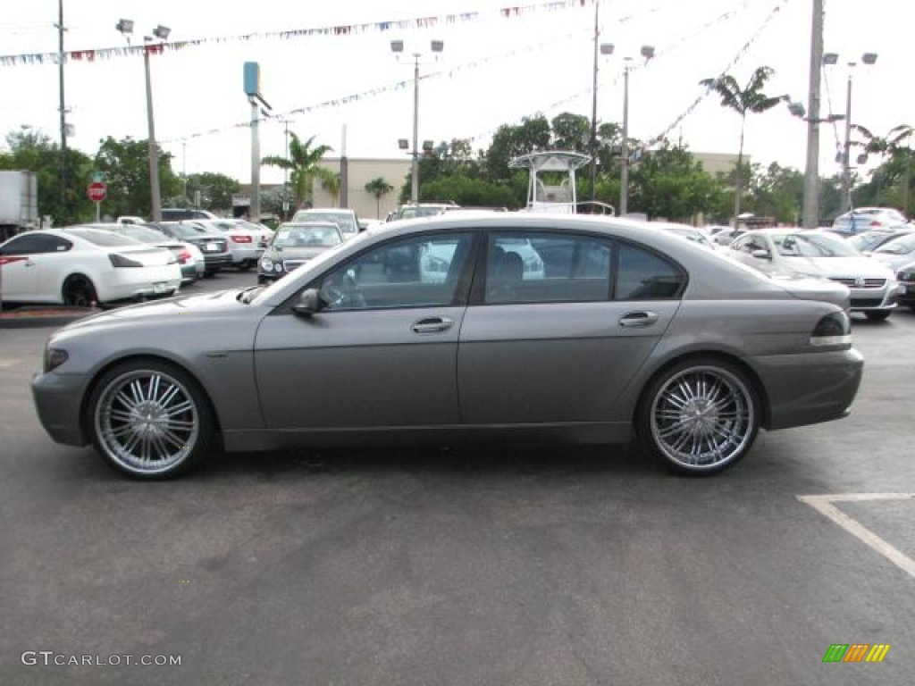 2003 BMW 7 Series 745Li Sedan Custom Wheels Photo #55545213