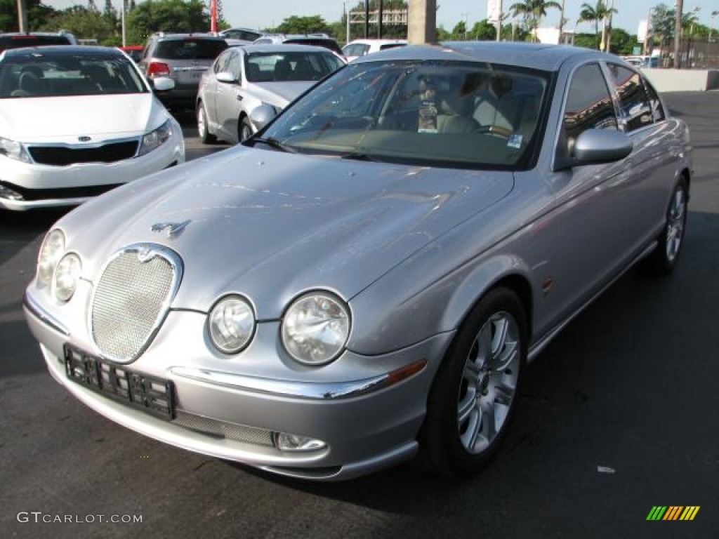 platinum metallic 2003 jaguar s type 3 0 exterior photo. Black Bedroom Furniture Sets. Home Design Ideas