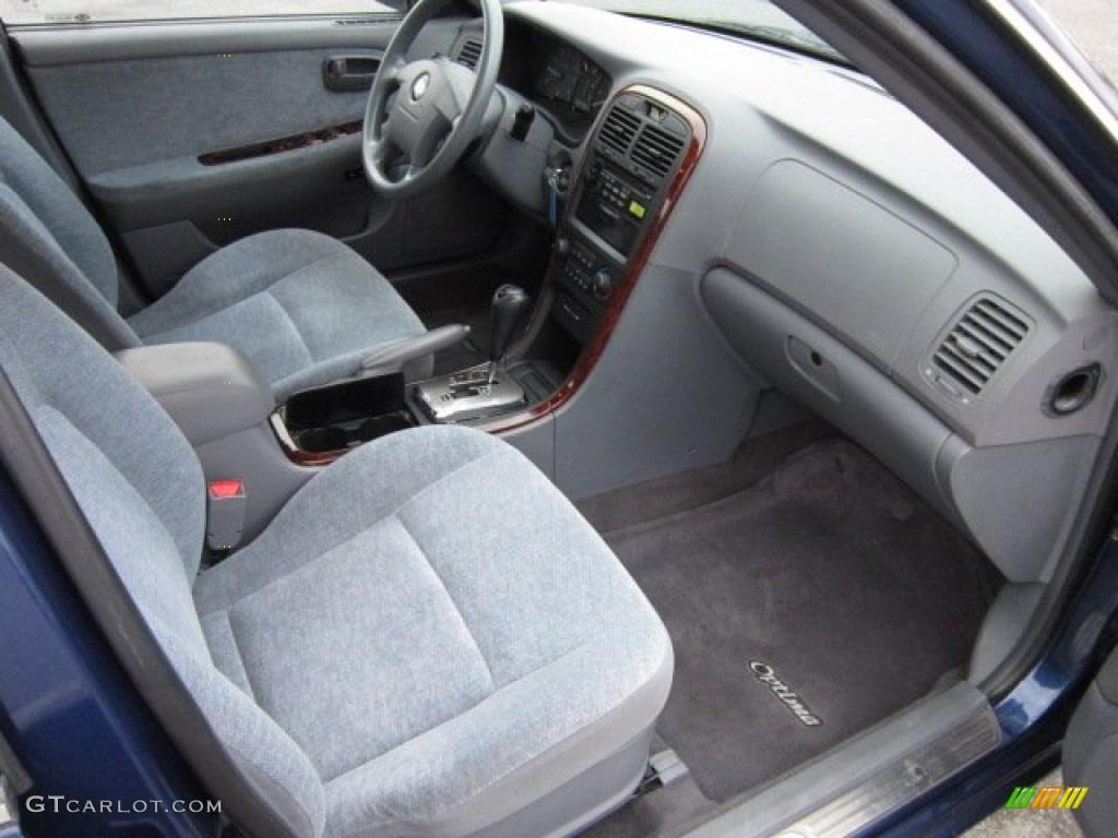gray interior 2005 kia optima lx v6 photo 55546734