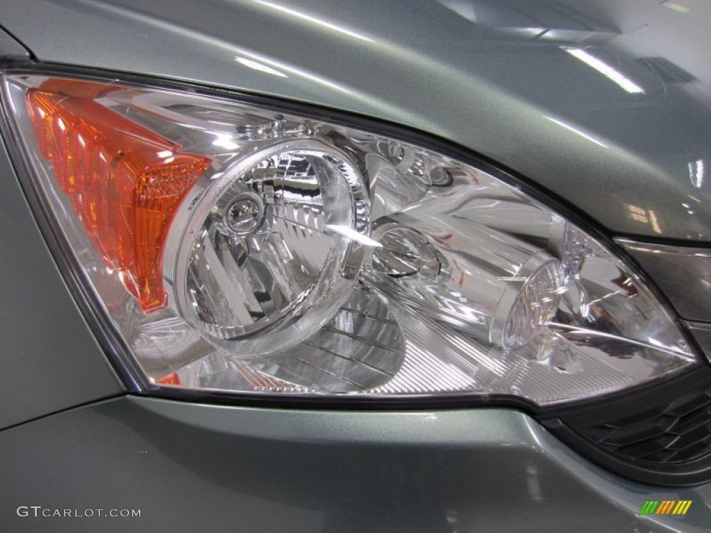 2010 CR-V LX AWD - Opal Sage Metallic / Ivory photo #5