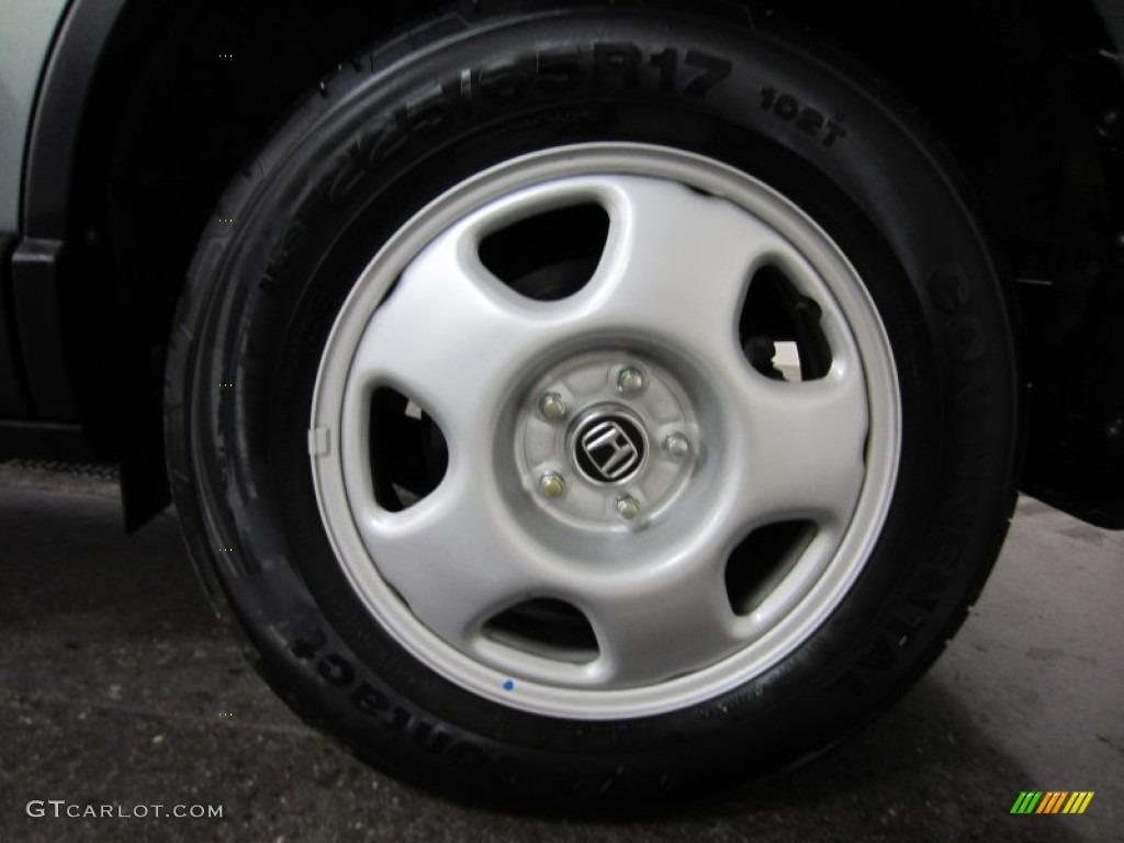 2010 CR-V LX AWD - Opal Sage Metallic / Ivory photo #7