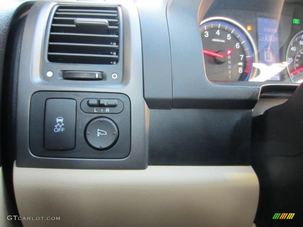 2010 CR-V LX AWD - Opal Sage Metallic / Ivory photo #23