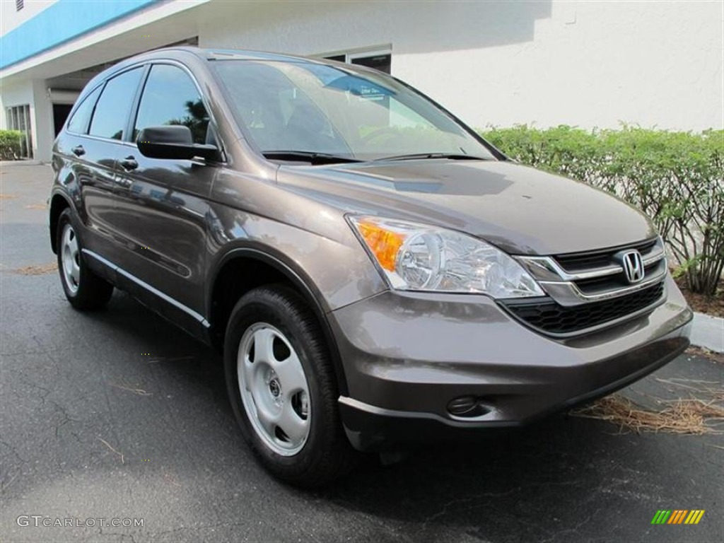 2011 CR-V LX - Urban Titanium Metallic / Black photo #1