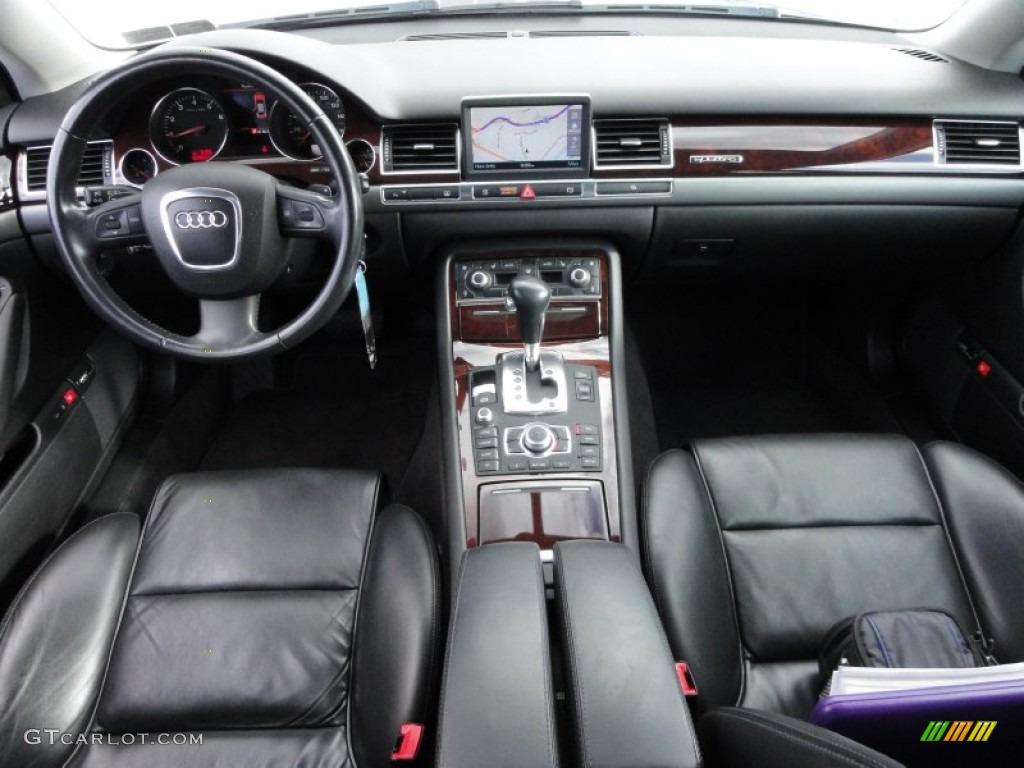 2006 Audi A8 4 2 Quattro Black Dashboard Photo 55560488