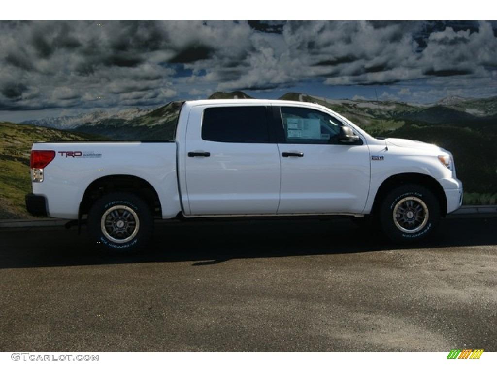 Super White 2012 Toyota Tundra TRD Rock Warrior CrewMax ...