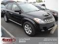 2007 Super Black Nissan Murano SL  photo #1