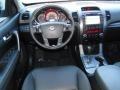 2011 Bright Silver Kia Sorento SX V6  photo #19