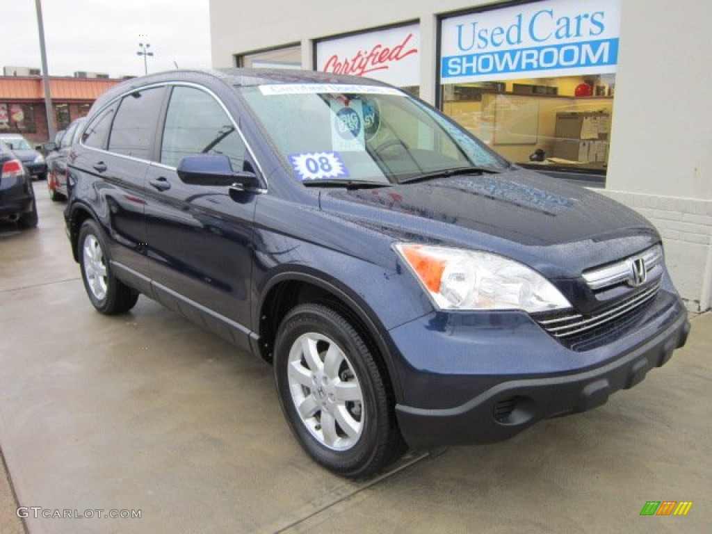 Royal Blue Pearl Honda CR-V