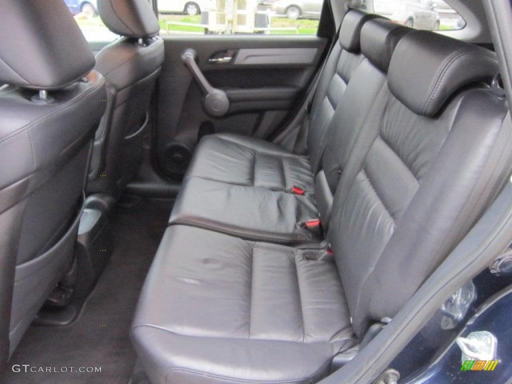 2008 CR-V EX-L 4WD - Royal Blue Pearl / Black photo #14