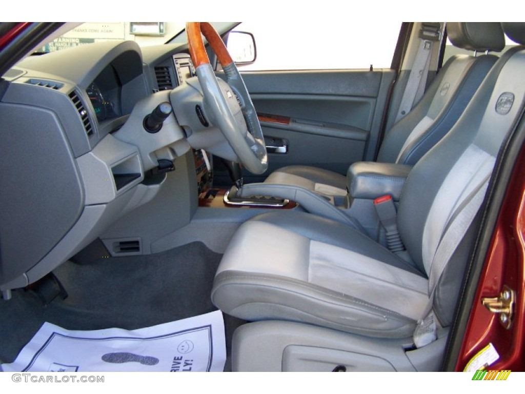 2007 Jeep Grand Cherokee Overland Interior Photos