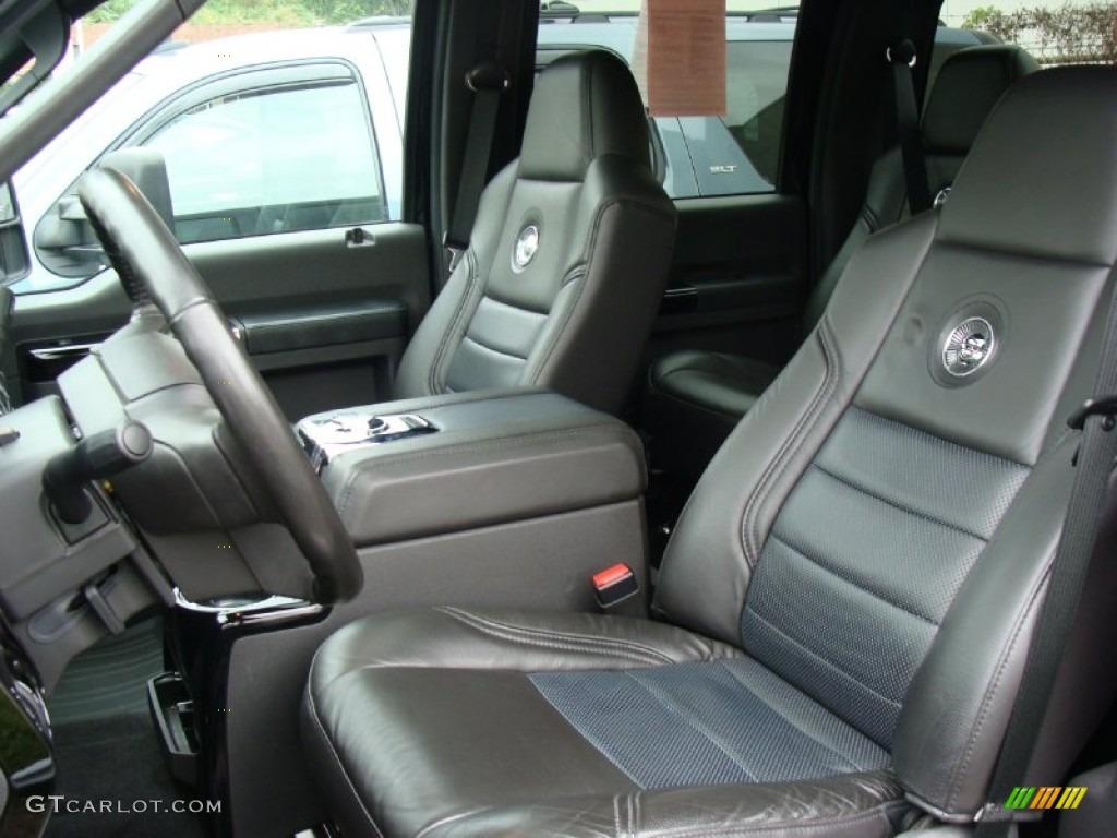 2009 Ford F450 Super Duty Harley Davidson Crew Cab 4x4 Dually interior