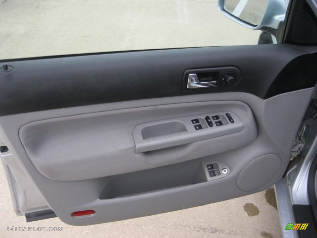 2004 Volkswagen Jetta Gl Sedan Grey Door Panel Photo 55579164