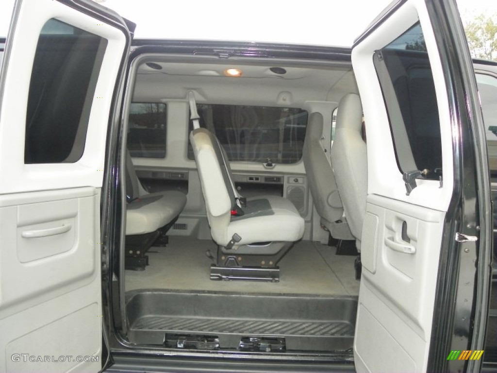 Medium Flint Interior 2011 Ford E Series Van E350 XLT Extended Passenger  Photo #55583581