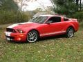 2007 Torch Red Ford Mustang Shelby GT500 Coupe  photo #1