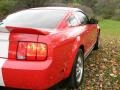 2007 Torch Red Ford Mustang Shelby GT500 Coupe  photo #12