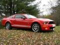 2007 Torch Red Ford Mustang Shelby GT500 Coupe  photo #15