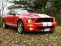 2007 Torch Red Ford Mustang Shelby GT500 Coupe  photo #18